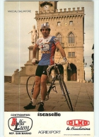 Salvatore MACCALI . 2 Scans. Equipe Olmo 1984 - Radsport