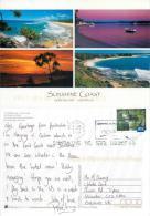 Sunshine Coast, Queensland, Australia Postcard Used Posted To UK 2009 Stamp - Sunshine Coast