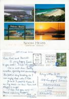 Noosa Heads, Queensland, Australia Postcard Used Posted To UK 2010 Stamp - Sunshine Coast