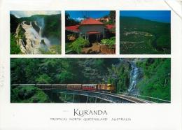 Kuranda, Queensland, Australia Postcard Used Posted To UK - Far North Queensland