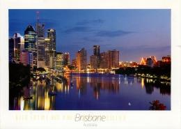 Brisbane, Queensland, Australia Postcard Used Posted To UK 2010 - Brisbane