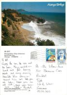 Alanya, Turkey Postcard Used Posted To UK 1999 Stamp - Turchia
