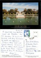 Shalimar Garden, Lahore, Pakistan Postcard Used Posted To UK 2003 Nice Stamp - Pakistan