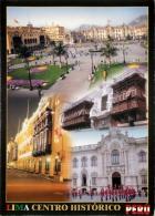 Lima, Peru Postcard Used Posted To UK - Peru