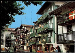Carte Postale  ESPAGNE FUENTERRABIA Rue De San Pedro - Spanje