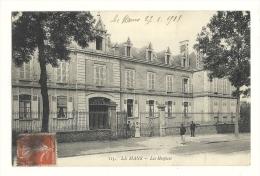 Cp, 72, Le Mans, Les Hospices, Voyagée 1915 - Le Mans