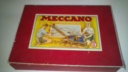 boite de jeu de construction meccano n 6 avec notice voir photos