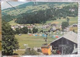 Mégève L'ensoleillée (Haute-Savoie) : Le Télécabine Du Jaillet Et Le Terrain De Camping   -  1967 - Megève