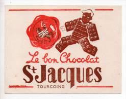Buvard - Le Bon Chocolat St Jacques - Tourcoing - Cocoa & Chocolat