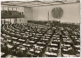 Bonn Plenarsaal Bundestagsdebatte - Bonn