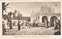 23740 Sri-Lanka - Missions De Ceylan Sanctuaire Grande Sainte-Anne -missionnaires Oblats - Sri Lanka (Ceylon)