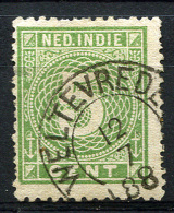 NETH. INDIES 1887 - Yv.21 With Clear Postmark WELTEVREDEN (F-VF) - Indie Olandesi