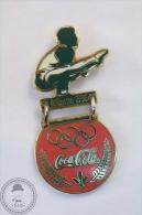 Olympic Games Atlanta 1996 Gymnastics - Coca Cola Pin Badge - #PLS - Coca-Cola