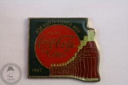 Vintage/ Retro Coca Cola Coke Advertising 1947 - Wilson Marketing 1985 - Pin Badge - #PLS - Coca-Cola