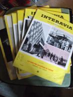Lot 6 Revues Interavia 1954 Et 1948 Aviation Photos Revue De L´aéronautique - AeroAirplanes