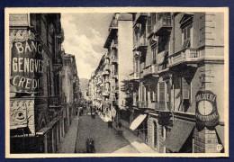 Carte-photo .La Spezia. Via Maria Adelaide. Banca Genovese Di Credito - La Spezia