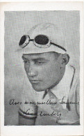 CYCLISME .    Carte  De Léo AMBERG  Vers 1935 - Cycling