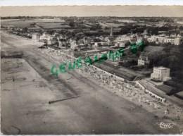 50-  SAINT PAIR SUR MER - VUE GENERALE AERIENNE DE LA GRANDE PLAGE   1953 - Saint Pair Sur Mer