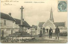 DEP 78 GOMMECOURT EGLISE ET CALVAIRE - France