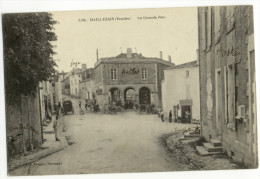 MAILLEZAIS. - La Grande Rue. Beau Cliché - Maillezais