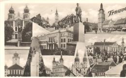 POSTAL   TRNAVA  -SLOVAQUIA -  VISTAS VARIAS - Eslovaquia