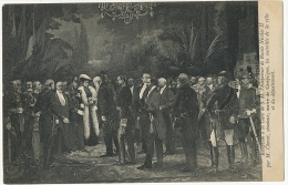 Compiegne France Reception A La Gare Du Tsar Nicolas II Par M. Chovet Senateur Maire - Russia