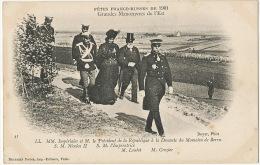Fetes Franco Russes 1901 President Loubet Tsar Nicolas II Et Imperatrice - Russia