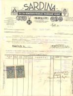 "SPLIT ""SARDINA DD ZA KONZERVIRANJE MORSKE RIBE Year 1934 - Unclassified"