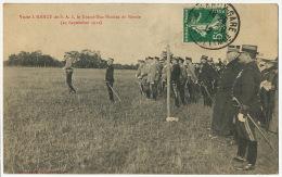 Visite A Nancy De S.A.I. Le Grand Duc Nicolas De Russie 23 Septembre 1912 - Russia