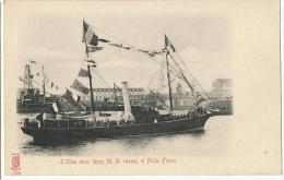 L' Elan Avec Leurs M.M. Russes Et Felix Faure Edition Kunzli - Russia