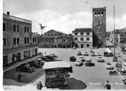 VENETO-PADOVA-MONSELICE PIAZZA MAZZINI ANIMATISSIMA VEDUTA - Italia