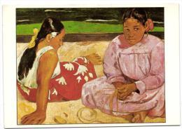 Paul Gauguin - Femmes De Tahiti Sur La Plage - Paintings