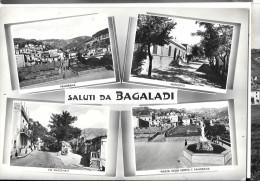 CALABRIA-REGGIO CALABRIA-BAGALADI VIA NAZIONALE VEDUTE MULTIPLE E SALUTI DA - Italia