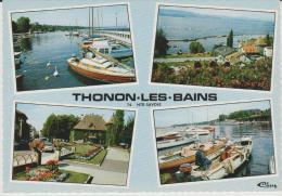 R : Haute  Savoie :  THONON  Les  BAINS  : Vue - Thonon-les-Bains