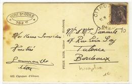 "Oblitération HOROPLAN Sur YT 659  -  "" OTTROTT / BAS  RHIN ""  -  1937 - Marcophilie (Lettres)"