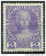 #13-09-00493 - Austria - 1908 - SG 190A - MH - QUALITY:80%