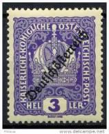 #13-09-00559 - Austria - 1918 - SG 299 - MH - QUALITY:100%