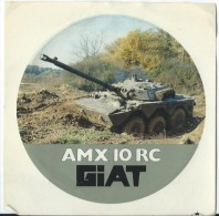 Armement/GIAT/AMX 10 RC / Ann�es 1980     ACOL15