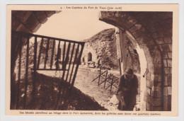 LES COMBATS DU FORT DE VAUX EN JUIN 1916 - LES BLESSES CHERCHENT UN REFUGE DANS LE FORT - France