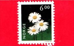 NORVEGIA - NORGE - 1997 - Nuovo - Fiori - Fleurs - Flowers - Crisantema - Oxeye Daisy  - 6.00 - Nuovi