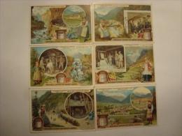 Liebig - Série De 6 Chromos Comme Neufs - S870 - Le Percement Du Tunnel Du Simplon - 1906 - (lot 121) - Liebig