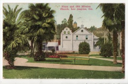 ÉTATS-UNIS . LOS ANGELES . PLAZA AND OLD MISSION CHURCH - Réf. N°1524 - - Los Angeles