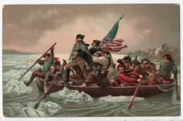 EMANUEL GOTTLIBE LEUTZE . WASHINGTONS CROSSING THE DELAWARE - Réf. N°1527 - - Non Classés