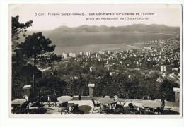 CPSM - 06 - RIVIERA SUPER CANNES - Vue Générale Sur Cannes Et L'Estérel Prise Du Restaurant De L'Observatoire - N° 1037 - Cannes