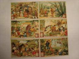 Liebig - Série De 6 Chromos En Très Bon état -  - S940 - AU MEXIQUE - 1908 -(lot 142) - Liebig