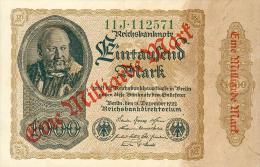 Deutschland, Germany - 1 Mrd. Mark, Reichsbanknote, Ro. 110 B,  ( Serie J ) XF ( 2 ), 1923 ! - 1918-1933: Weimarer Republik