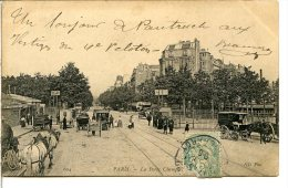75017 PARIS - La Porte Champerret (direction Paris) - Quelques Attelages - Arrondissement: 17