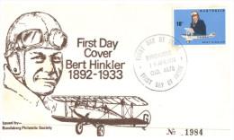 (PH 779) Australia FDC Cover - 1980 - Bert Hinkler (number 1984) - Airplanes