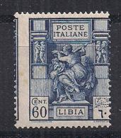 COLONIE ITALIANE  LIBIA 1924 SIBILLA LIBICA SASS. 42 MLH VF - Libyen