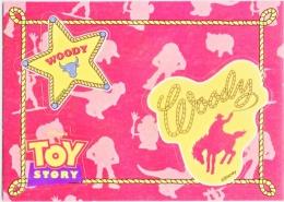 DISNEY  TOY  STORY   BADGE  CARD     1995  HASBRO, INC. - Disney